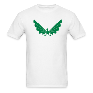 T-Shirts ~ Men's T-Shirt ~ LOA - green on white
