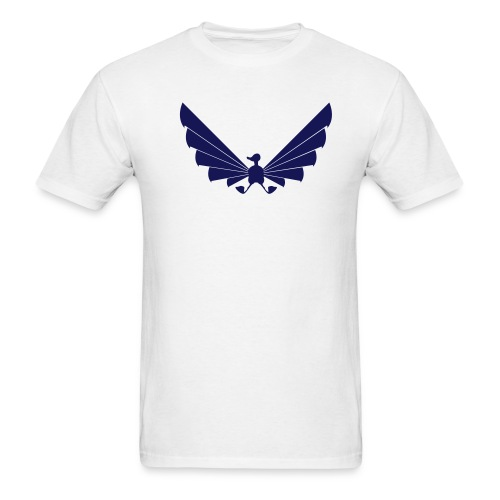 LOA - navy on white - Men's T-Shirt
