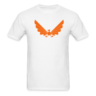 T-Shirts ~ Men's T-Shirt ~ LOA - orange on white