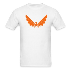 LOA - orange on white - Men's T-Shirt