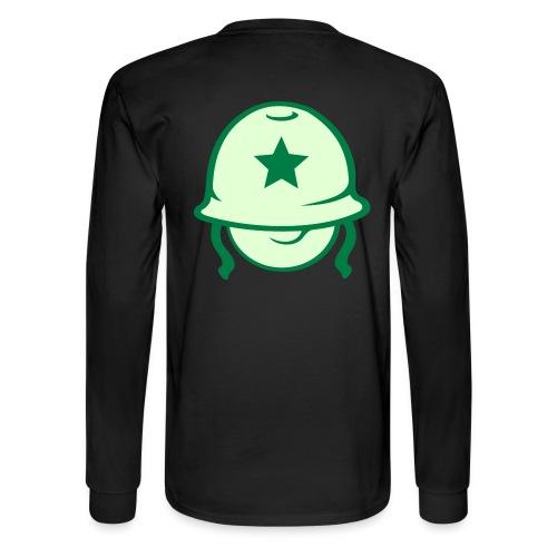 Private Head Longsleeve T shirt - Men's Long Sleeve T-Shirt
