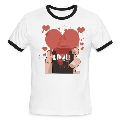 Love Spray - Men's Ringer T-Shirt
