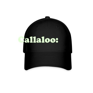 CALLALOO: GLOW IN THE DARK - CAP - TRINI SLANG - IZATRINI.com - Baseball Cap
