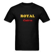T-Shirts ~ Men's T-Shirt ~ ROYAL EXTRA T-SHIRT - IZATRINI.com