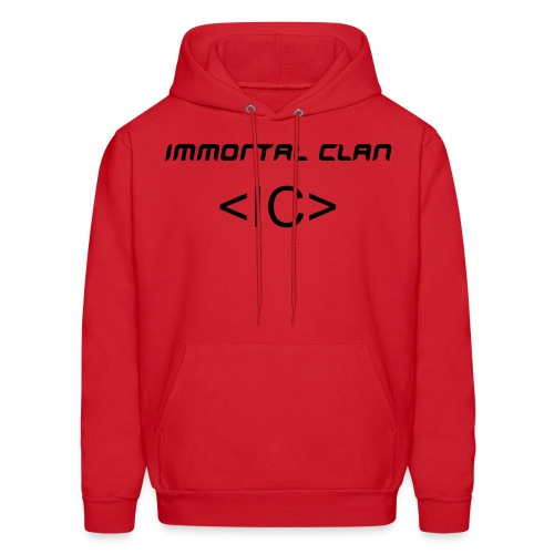 IC RED  PULLOVER - Men's Hoodie