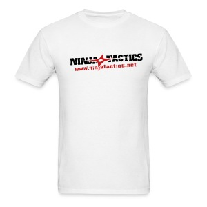 NinjaTactics (black/red art) - Men's T-Shirt