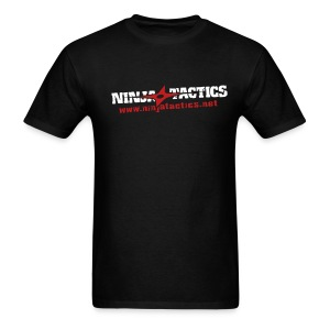 NinjaTactics (white/red art) - Men's T-Shirt