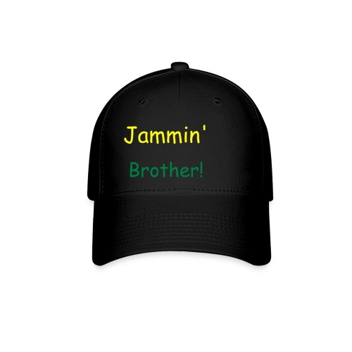0 Percent...Talent!black jammin brother hat - Baseball Cap