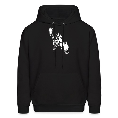 statue of liberty - Men's Hoodie
