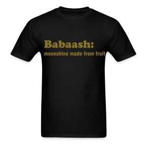 BABAASH: MOONSHINE - TRINI SLANG - IZATRINI.com - Men's T-Shirt