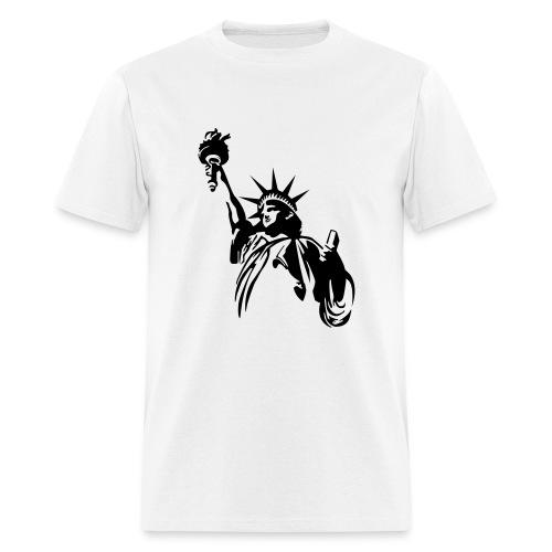 Statue Of Liberty T-Shirt - Men's T-Shirt