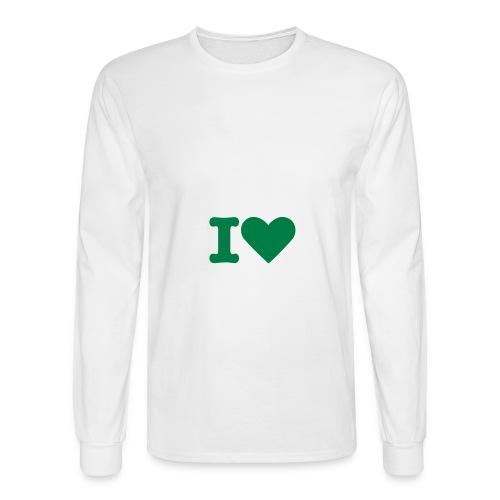 1 heart - Men's Long Sleeve T-Shirt
