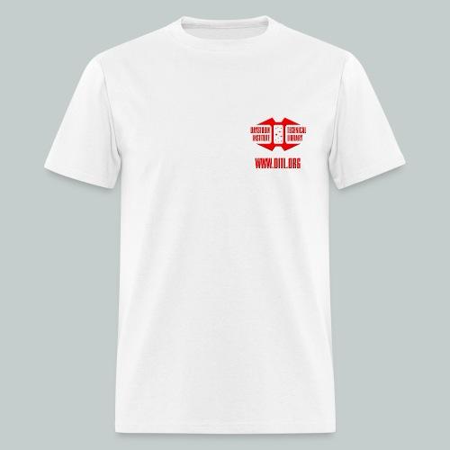 Plain T-Shirt Pocket Logo - Men's T-Shirt