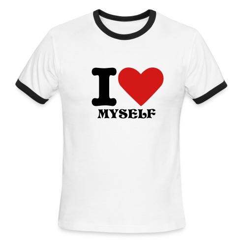 I LOVE MYSELF T-SHIRT - Men's Ringer T-Shirt