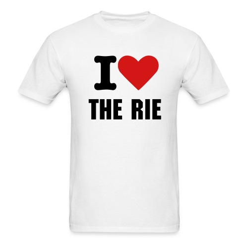 I Love The Rie T-Shirt - Men's T-Shirt