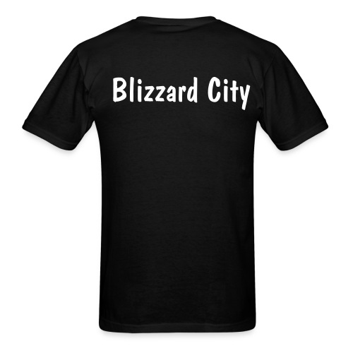 MWR Blizzard City - Men's T-Shirt