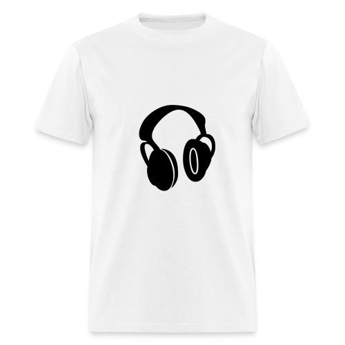 Head Phones T-Shirt - Men's T-Shirt