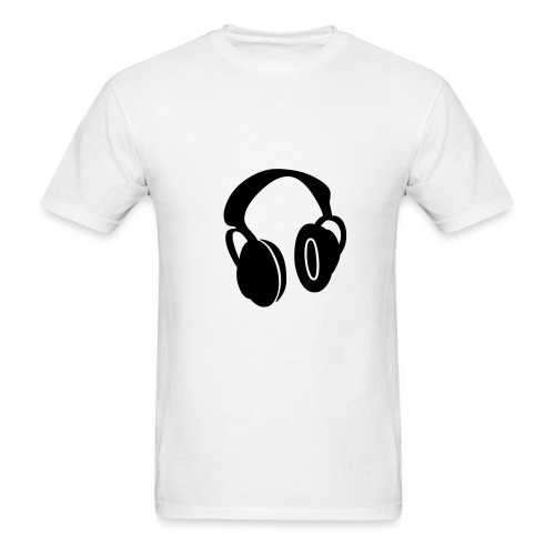 Head Phones T-Shirt - Men's T-Shirt