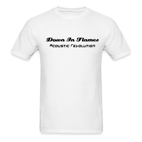 DIF White T-Shirt - Men's T-Shirt