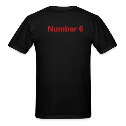 Number 6 Tee - Men's T-Shirt