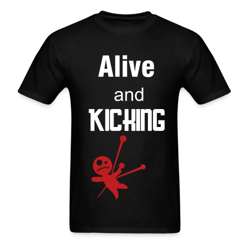 alive and kicking tee - Men's T-Shirt