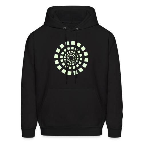 spiral circle - Men's Hoodie