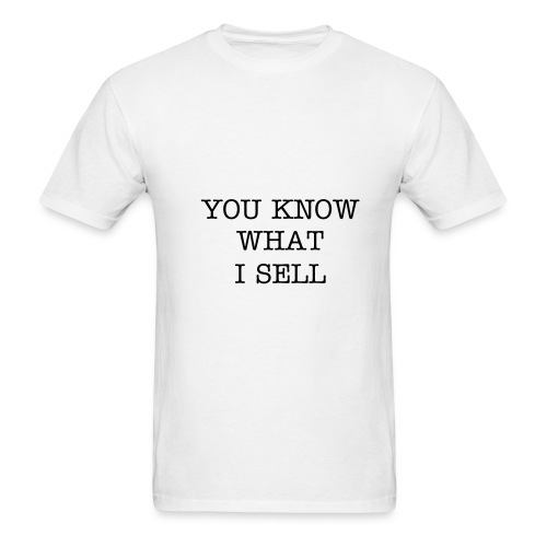 YOU KNOW WHITE - Men's T-Shirt