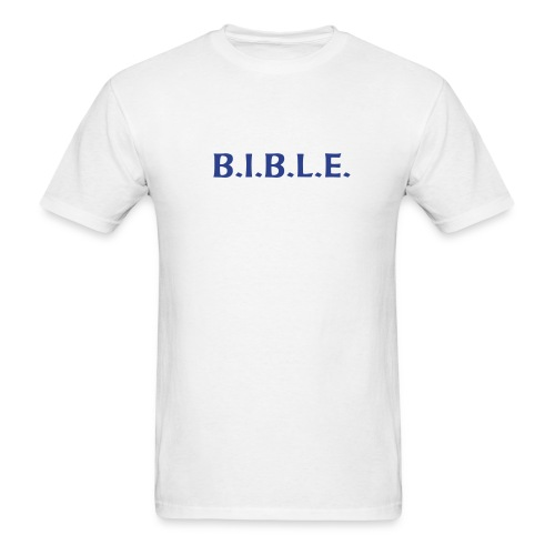 Bible Shirt - Men's T-Shirt