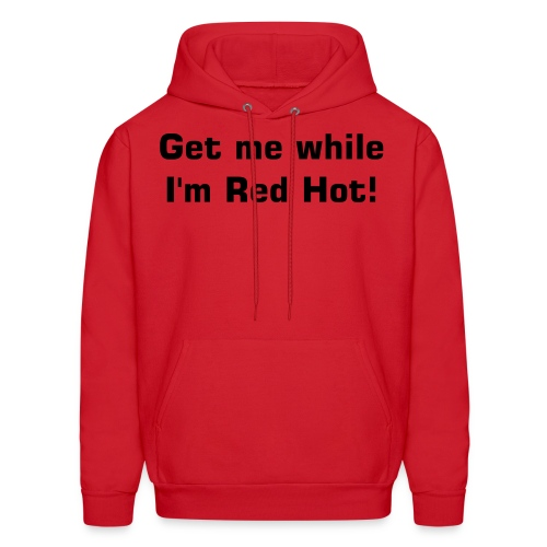Red hot - Men's Hoodie