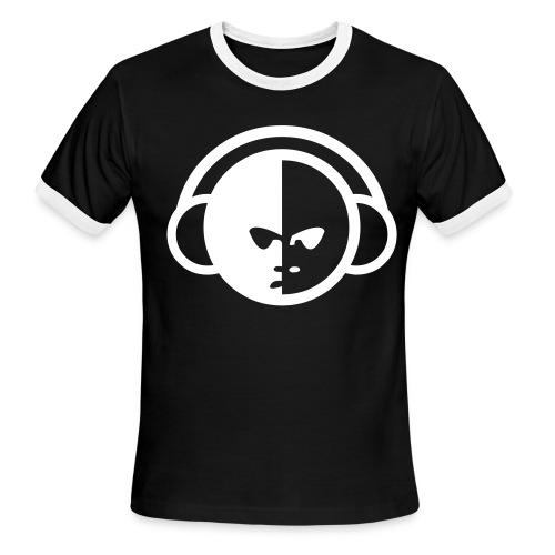 YinYangDJ BLK/WH - Men's Ringer T-Shirt