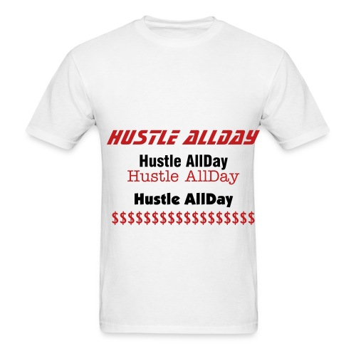 HUSTLE ALLDAY TEE - Men's T-Shirt