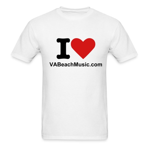 Dudes I heart VBM T - Men's T-Shirt