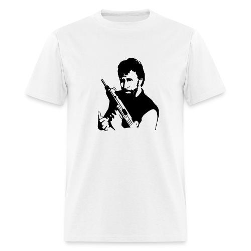 Chuck Norris Listens - Men's T-Shirt
