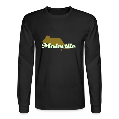 SPECIAL LIMITED EDITION Moleville Longsleeve (Glow in the Dark) - Men's Long Sleeve T-Shirt
