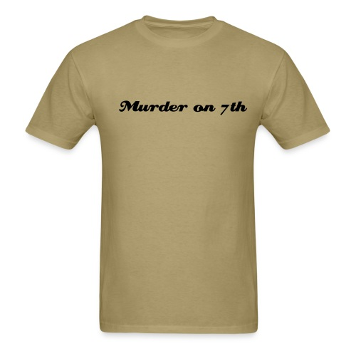 Simple Tan - Men's T-Shirt