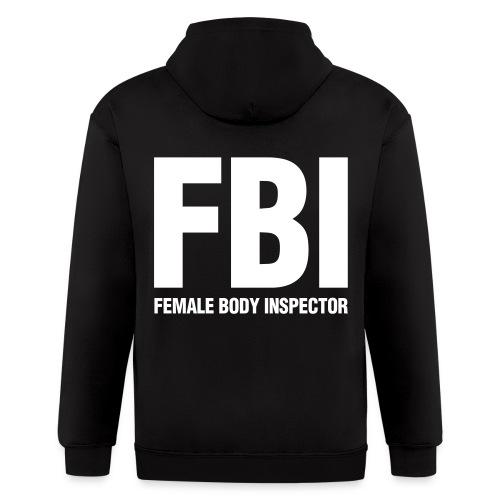FBI HOODIE - Men's Zip Hoodie