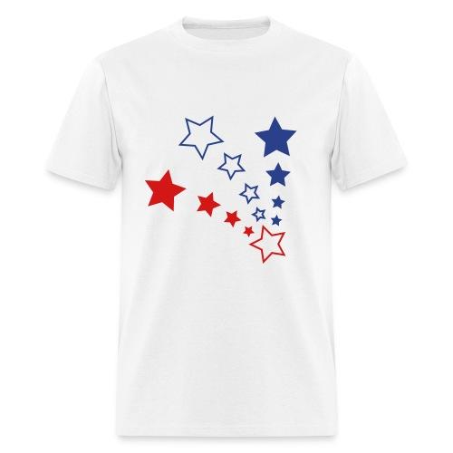 PATRIOTIC STARS - Men's T-Shirt