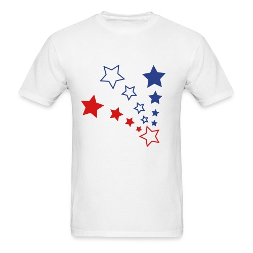 PATRIOTIC STARS - Men's T-Shirt