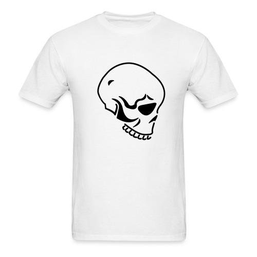 White Tee - Men's T-Shirt