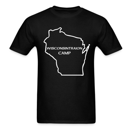 WISCONSINTRATION CAMP DESTROY EVERYTHING T SHIRT - Men's T-Shirt