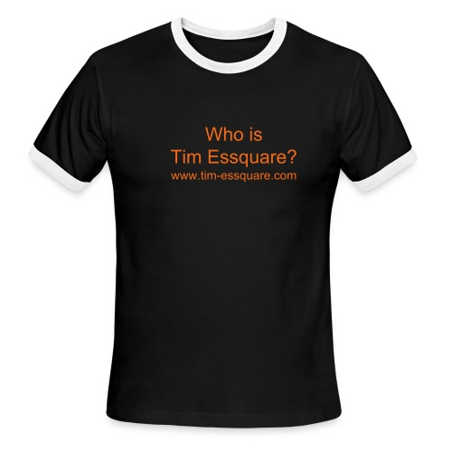Tim Essquare Ringer Tee - Men's Ringer T-Shirt