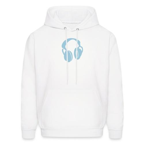 white hoodie - Men's Hoodie