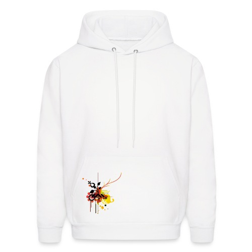 Abstract Hoody - Men's Hoodie