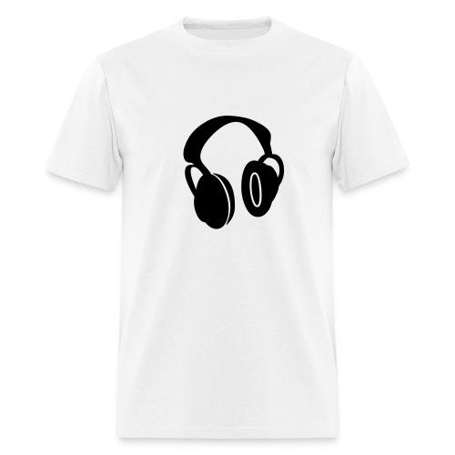 HEADFONES SHIRT - Men's T-Shirt