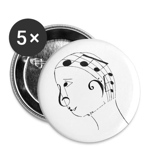 Boy Geek Pins (1) - Small Buttons