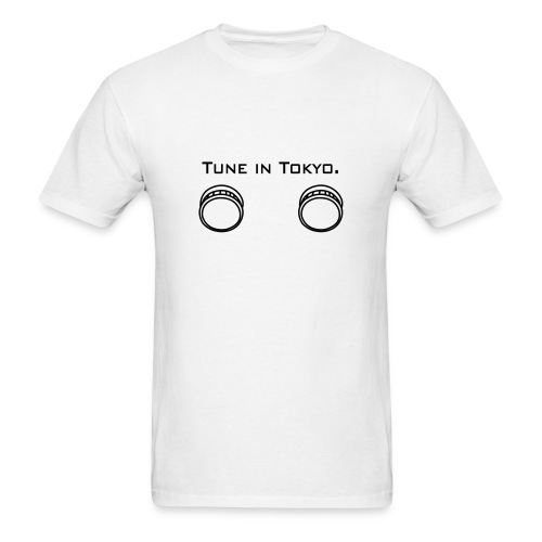 Men's T-Shirt - Yep, even tokyo likes a little variety every now and then. Thats why they, and you, should get this awesome white tee with the All for One name on the back.