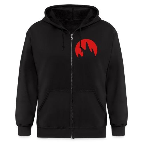 Men's Graphic TPD Logo Zip-Hoodie - Men's Zip Hoodie