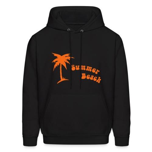 Summer beach - Men's Hoodie