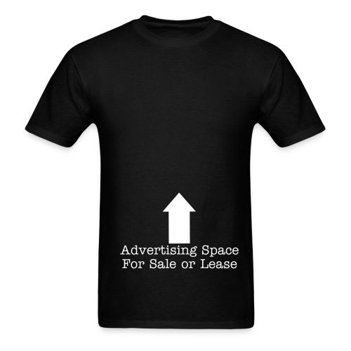 Advertising Space - Men's T-Shirt
