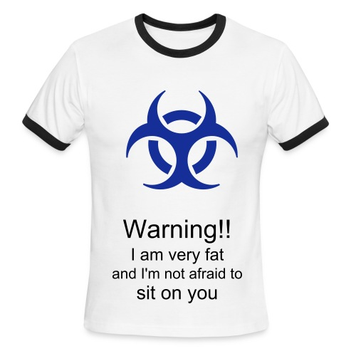 Warning I'm Deadly - Men's Ringer T-Shirt